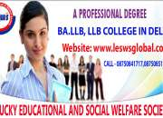 LLB College in Delhi/NCR | College of Law in Delhi | 08750841717