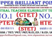 Most popular coaching centre for ctet exam. in govindpuri