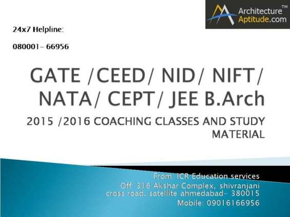Ceed 2016 exam preparation sample papers