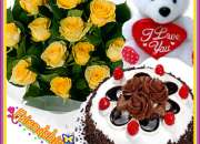 Friendshipday cards flowers just in 349/-