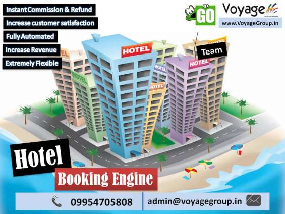 Hotel booking engine for website in india