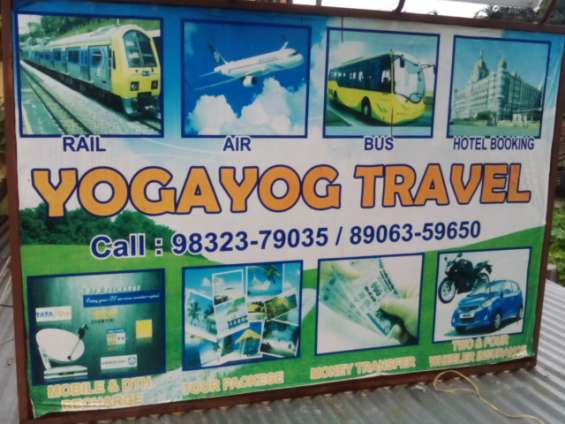 Yogayog travel a house of complete rail/air/bus booking solution.yogayog travel a house