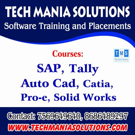 Sap,practical accounting,core hr coaching..techmania solutions