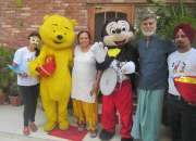live cartoon characters available on rent call Amy Event