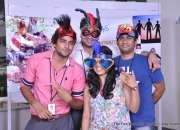 the fun box photobooth organised in chandigarh call AMY EVENT