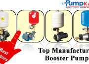 Top Manufacturers Booster Pumps at Best Prices