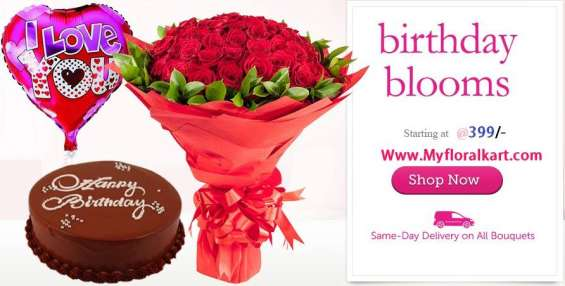 Visit myfloralkart.com to find friendship day gifts