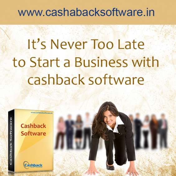 Be an entrepreneur by installing our cashback software