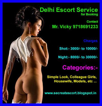 Delhi escort service with space at saket