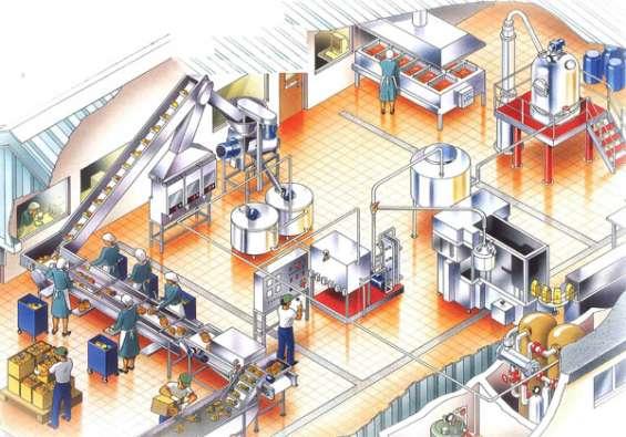 Industry set up medium scale