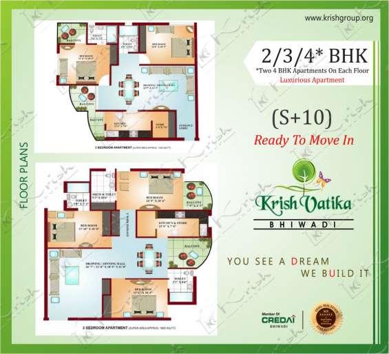 Offer krish vatika-i multistory residential property in bhiwadi