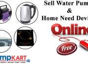 Sell Water Pumps & Home Need Devices Online for FREE
