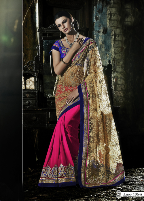 Wedding saree - rajhans online