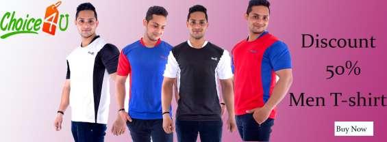 Latest design low price men t-shirt online