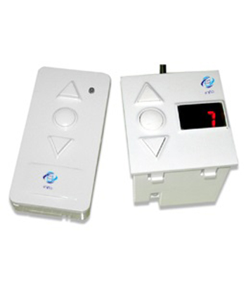 """""""remote controled fan switch with regulator display"""""""