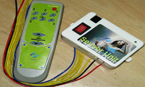 Remote switch for lights & fan