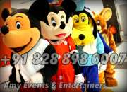 book live interesting cartoon characters fr bday party call 7696870007