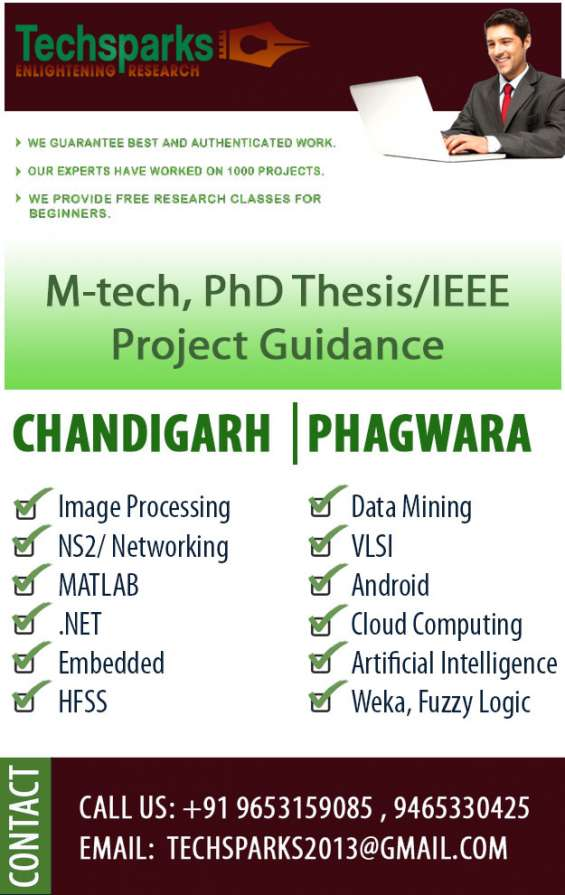 M.tech thesis (techsparks.co.in)