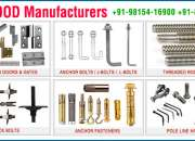 Threaded rods, coil rods and fasteners in india