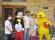 Tom &jerry, miniuon chotta bheem and more cartoons character available on rent for events