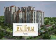 2 bhk flat(1000 sq.ft.) in amrapali platinum @rs.44 lacs