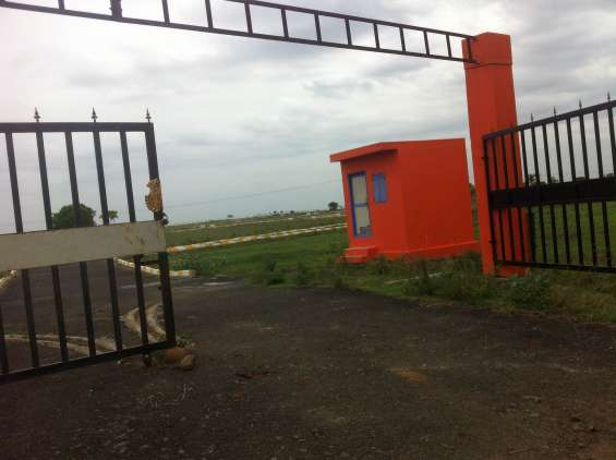 Dtcp approved plot sale in oragadam golden city