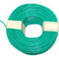 Fiber glass wire for high temperature applications