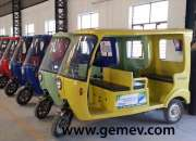 GEM E E rickshaw govt. approved in India