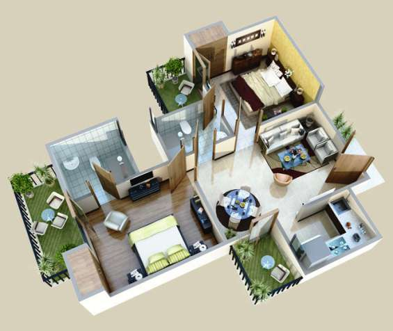 Call 8882103588 for 2/3 bhk apartment/flat in noida extension/noida