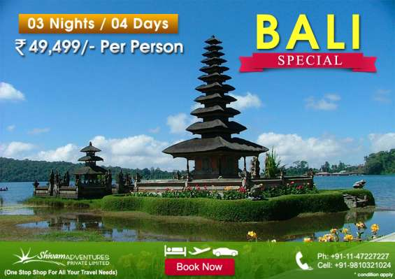 Bali tour packages from delhi, bali packages, bali holiday packages