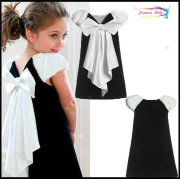 Big bow lovely frock at foreverkidz