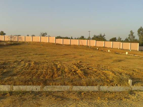 Nbr orange county, residential plots are available just for rs.500/- per sq.ft in bagalur,