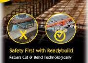 No wastage with readybuild rebars