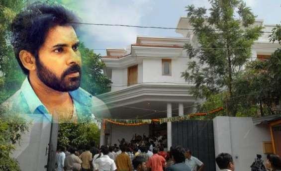 Pawan kalyan house demolished!!!