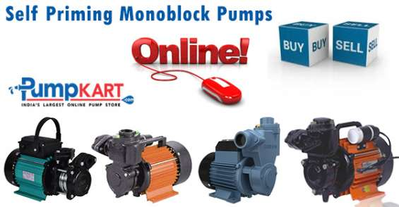 Self priming monoblock pumps| buy & sell online @ pumpkart