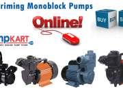 Self Priming Monoblock Pumps| Buy & Sell Online @ Pumpkart