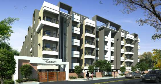 For sale : unfurnished 1510 sq.ft. 3 bhk luxurious flat at k r puram