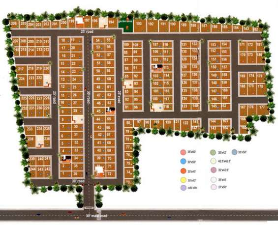 Villa plots available in nbr homes located in hosur @ rs. 500/- per sq.ft