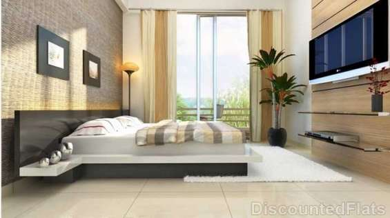2 bhk flat for sale at 38 park majestique undri  possession within next 1year
