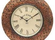 Attractive Coin Design Wall Clock