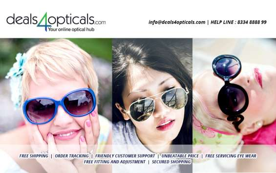 Explore your choice of sunglasses at deals stores