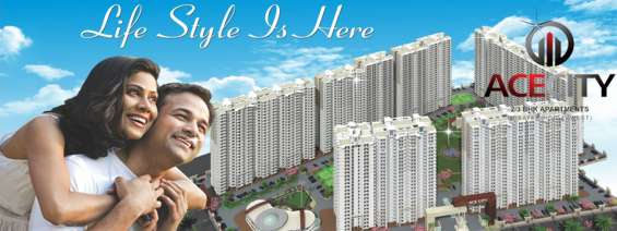 Nature friendly residency in noida at ace city @9250002243
