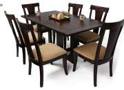 Rs32,850, Get 6 Seater Dining Table Online - Wooden Street