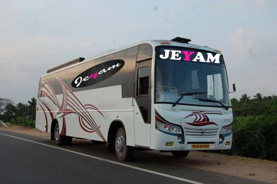 Jeyam bus front postition