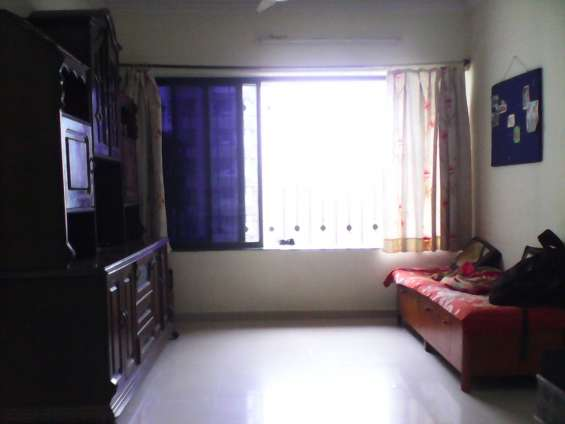 One master bedroom of 3 b h k flat available for rent