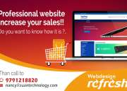 Reg: Professional website to increase sales.