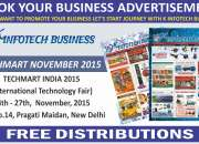 Book your  business ads on upcoming exhibitions pragati maidan