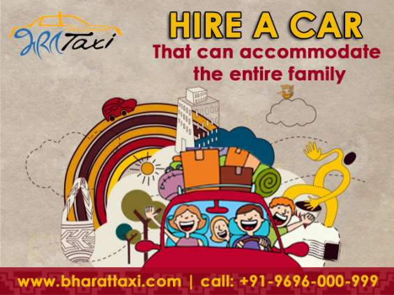 Car & taxi hire in agra