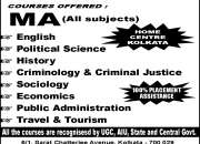 Direct admission in ma/mcom