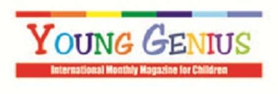 Children magazine, young genies magazine
